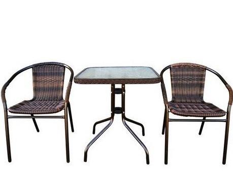 мебель для летнего кафе из искусственного ротанга
