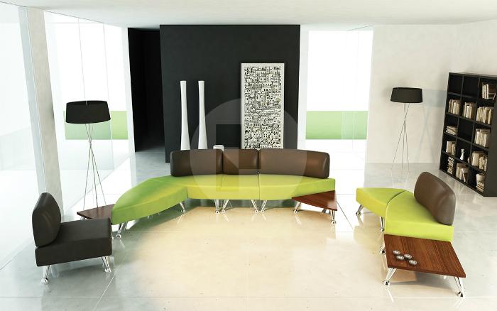 Модульные диваны для офиса Туформ