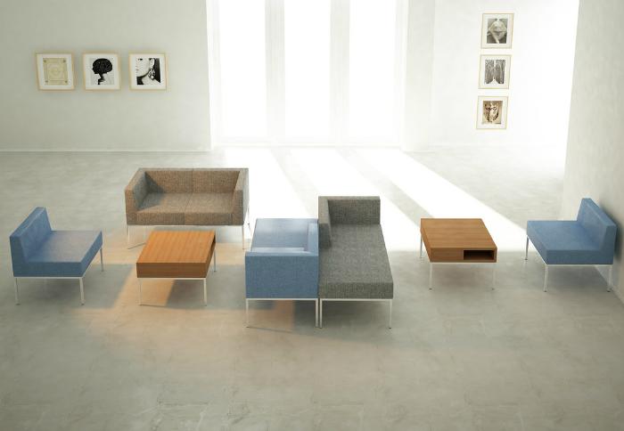 Мягкая модульная мебель для офиса М3