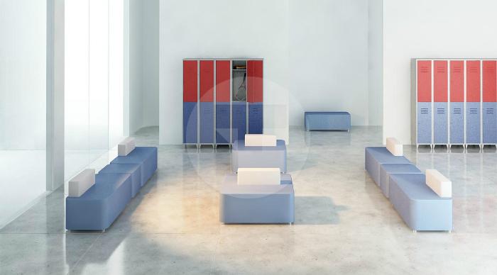 Мягкая модульная мебель для кафе
