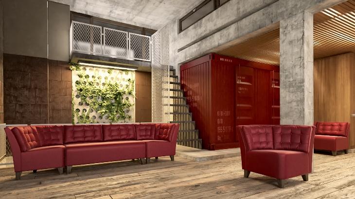 Мягкая модульная мебель для офиса