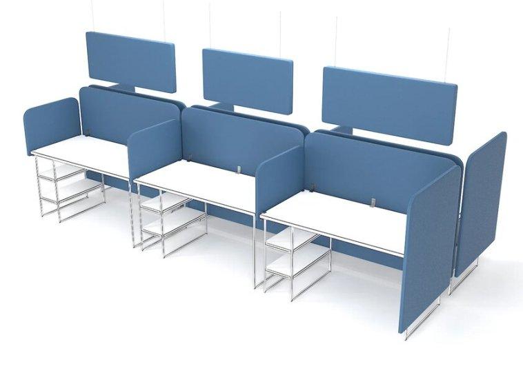 Экраны и перегородки для офисных столов